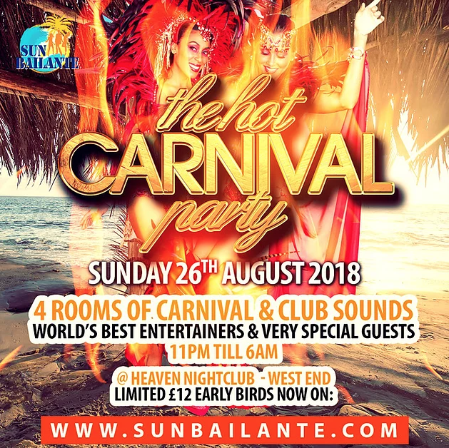 Games Coming Out In August 2020.Notting Hill Carnival Party 2020 Sun Bailante